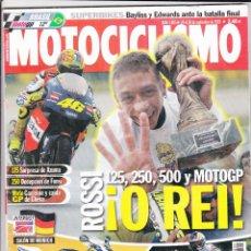 Voitures et Motocyclettes: MOTOCICLISMO N° 1805 (2002). VALENTINO ROSSI 5º MUNDIAL, SUZUKI GSXR 1000, APRILIA, BMW, HONDA. Lote 170718915