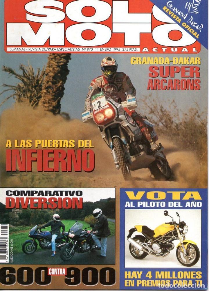 SOLO MOTO NÚMERO 970 ENERO 1995 (Coches y Motocicletas - Revistas de Motos y Motocicletas)
