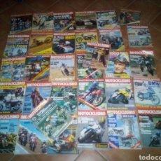 Coches y Motocicletas: LOTE DE 32 REVISTAS MOTOCICLISIMO AÑOS 79 A 81 . VER LISTA . Lote 171050833