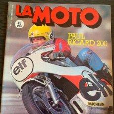 Coches y Motocicletas: REVISTA LA MOTO EQUIPO FÓRMULA N° 18 DE 1976 ENSAYO GUZZI 1000 CONVERT. Lote 171088774