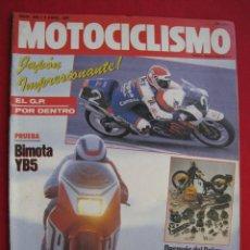 Coches y Motocicletas: REVISTA MOTOCICLISMO - Nº 999 - 9 ABRIL 1987.. Lote 171118972