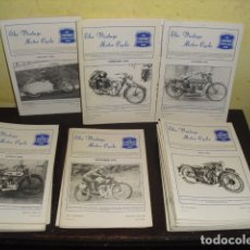Coches y Motocicletas: 23 EJEMPLARES DE LA REVISTA THE VINTAGE MOTOR CYCLE CLUB -. Lote 171135913
