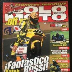 Coches y Motocicletas: SOLO MOTO ACTUAL - Nº 1296 - ABRIL 2001 - HONDA CBR 600 FSPORT KTM LC8 SUZUKI BURGMAN 400 . Lote 171310188