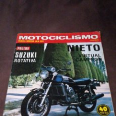 Coches y Motocicletas: MOTOCICLISMO JULIO DEL 75. Lote 171366447