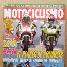 Coches y Motocicletas: MOTOCICLISMO 1313 KAWASAKI ZXR 750 R YAMAHA YZF 750 1500 VULCAN VIRAGO 1100 SUZUKI INTRUDER VS 1400. Lote 171491980