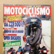 Coches y Motocicletas: MOTOCICLISMO 1306 MECATECNO RACING CR8 KAWASAKI ZZR 600 ZZR 1100 YAMAHA GTS 1000 BMW K 1100 RS. Lote 171493590