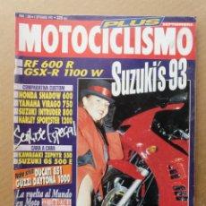 Coches y Motocicletas: MOTOCICLISMO 1280 MOTO GUZZI 1000 DAYTONA DUCATI 851 HARLEY DAVIDSON 1200 HONDA SHADOW YAMAHA VIRAGO. Lote 171497720