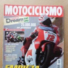 Coches y Motocicletas: MOTOCICLISMO 1466 KAWASAKI ZX-9R YAMAHA YZF 1000 XVZ 1300 HONDA CBR 900 VT 1100 SHADOW ACE. Lote 171566700