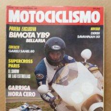 Coches y Motocicletas: MOTOCICLISMO 1138 BIMOTA BELLARIA YB9 600 GARELLI SAHEL 80. Lote 171567400