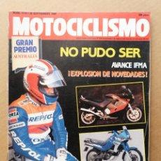 Coches y Motocicletas: MOTOCICLISMO 1178 DUCATI DESMO 907 IE AVANCE IFMA. Lote 171568069