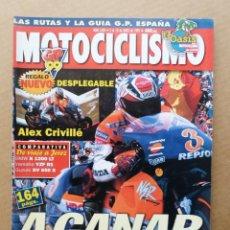 Coches y Motocicletas: MOTOCICLISMO 1628 SUZUKI SV 650 S YAMAHA R1 BMW K 1200 LT KAWASAKI ZR-7 ALEX CRIVILLE. Lote 171569264