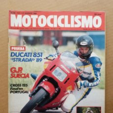 Coches y Motocicletas: MOTOCICLISMO 1121 DUCATI 851 STRADA VEHICULOS TIERRA MAR Y AIRE. Lote 171570193