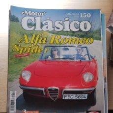 Coches y Motocicletas: MOTOR CLÁSICO NÚMERO 150. Lote 171681449
