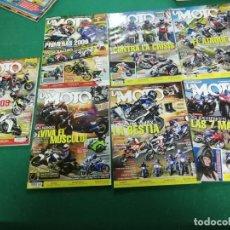 Coches y Motocicletas: LOTE 7 NÚMEROS REVISTA LA MOTO - 2008 Y 2009. Lote 172105285