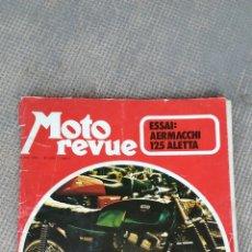 Coches y Motocicletas: REVISTA MOTO REVUE. Lote 172232425