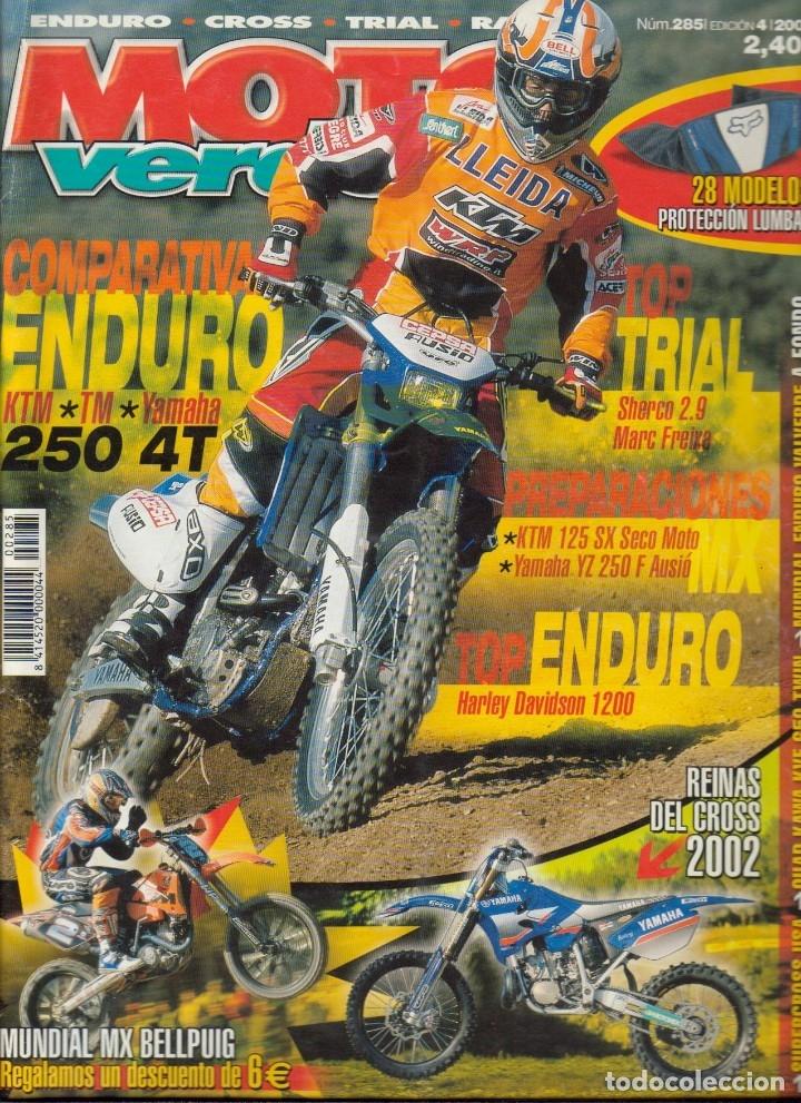 Coches y Motocicletas: REVISTAS MOTO VERDE - LOTE DE 4 NÚMEROS - Foto 3 - 172323538