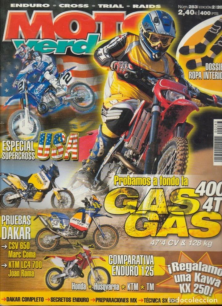 Coches y Motocicletas: REVISTAS MOTO VERDE - LOTE DE 4 NÚMEROS - Foto 5 - 172323538
