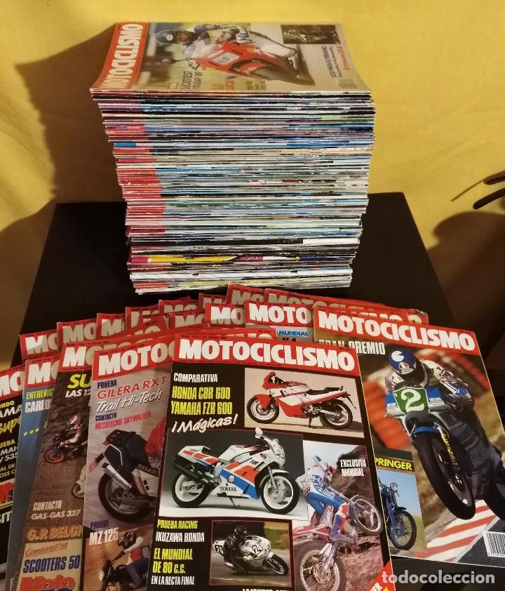 Coches y Motocicletas: Lote 97 Revistas Motociclismo nº1100-1199 19889-91 Casi Completa Coleccionismo Motos - Foto 2 - 172724590