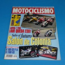 Coches y Motocicletas: MOTOCICLISMO Nº 1390 - COMPARATIVA BMW - R 100 GS P.D -- R 1100 GS.AÑO 1994.. Lote 172730564