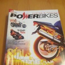 Coches y Motocicletas: LOTE 5 REVISTAS DE MOTOS CUSTOM Y TUNING POWERBIKES. Lote 172912173