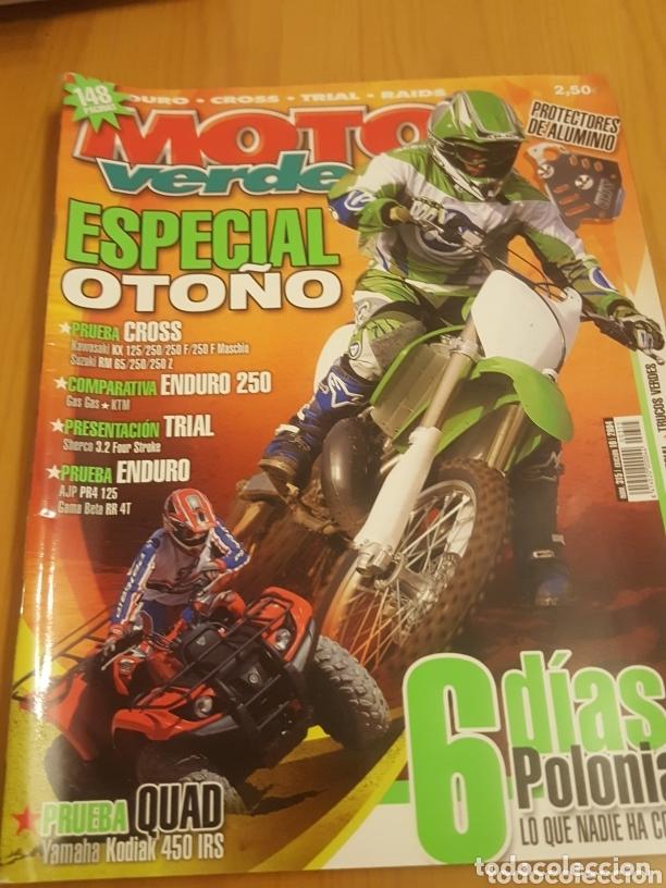 Coches y Motocicletas: Lote variado 7 revistas motos quad scooter moto verde etc - Foto 5 - 172913142