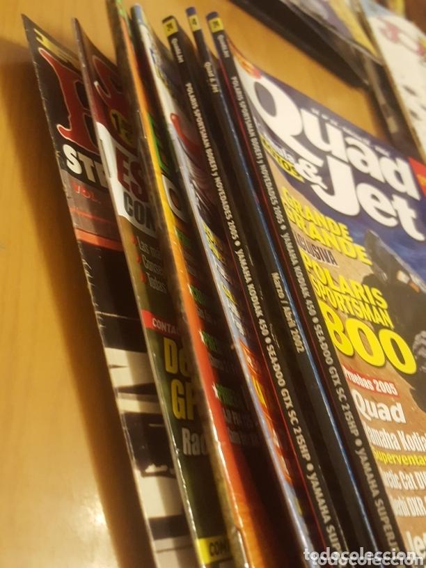 Coches y Motocicletas: Lote variado 7 revistas motos quad scooter moto verde etc - Foto 8 - 172913142