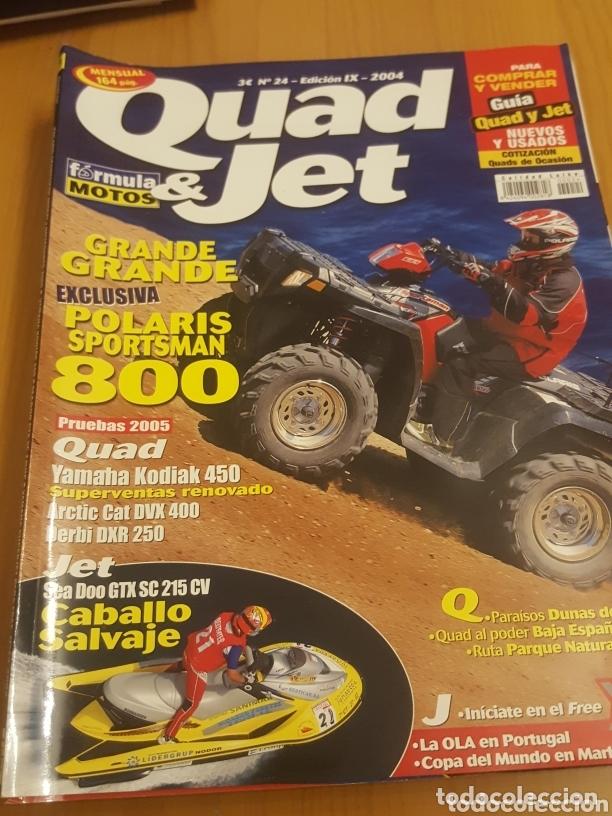 LOTE VARIADO 7 REVISTAS MOTOS QUAD SCOOTER MOTO VERDE ETC (Coches y Motocicletas - Revistas de Motos y Motocicletas)