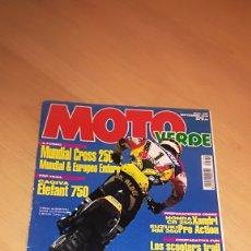 Coches y Motocicletas: REVISTA MOTO VERDE Nº 194. Lote 173470072