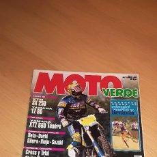 Coches y Motocicletas: REVISTA MOTO VERDE Nº 195. Lote 173470557