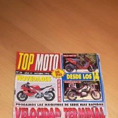 Coches y Motocicletas: TOP MOTO Nº 58 OCTUBRE 1995. Lote 173470682