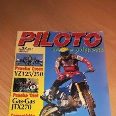 Coches y Motocicletas: REVISTA PILOTO CAMPO Y DEPORTE Nº 47 ENERO 1997. Lote 173523738
