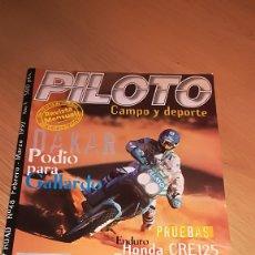 Coches y Motocicletas: REVISTA PILOTO CAMPO Y DEPORTE Nº 48 FEBREO MARZO 1997. Lote 173523788