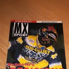 Coches y Motocicletas: REVISTA MX SPORT Nº 22 FEBRERO 1997. Lote 173524067