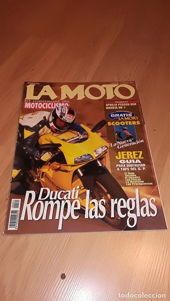 REVISTA LA MOTO Nº 61 MAYO 1995 (Coches y Motocicletas - Revistas de Motos y Motocicletas)