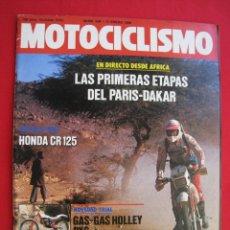 Coches y Motocicletas: REVISTA MOTOCICLISMO - Nº 936 - 17 ENERO 1986.. Lote 173879685