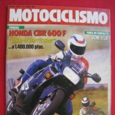 Coches y Motocicletas: REVISTA MOTOCICLISMO - Nº 1007 - 11 JUNIO 1987.. Lote 173913463
