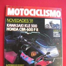 Coches y Motocicletas: REVISTA MOTOCICLISMO - Nº 1182 - 18 OCTUBRE 1990.. Lote 173984135