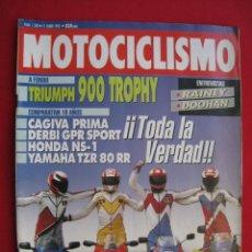 Coches y Motocicletas: REVISTA MOTOCICLISMO - Nº 1268 - 11 JUNIO 1992.. Lote 174018618