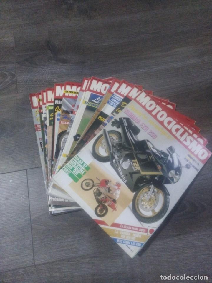 LOTE DE REVISTAS MOTOCICLISMO AÑO 1987 N° 986-999 (Coches y Motocicletas - Revistas de Motos y Motocicletas)