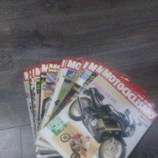 Coches y Motocicletas: LOTE DE REVISTAS MOTOCICLISMO AÑO 1987 N° 986-999. Lote 174100704