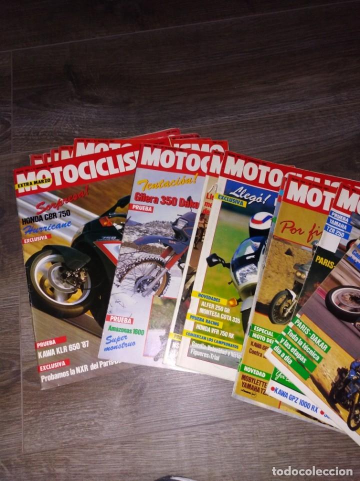 Coches y Motocicletas: Lote de revistas motociclismo año 1987 n° 986-999 - Foto 4 - 174100704