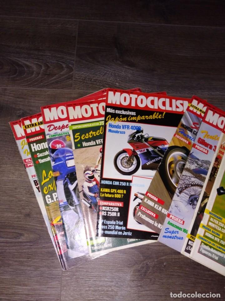 Coches y Motocicletas: Lote de revistas motociclismo año 1987 n° 986-999 - Foto 5 - 174100704