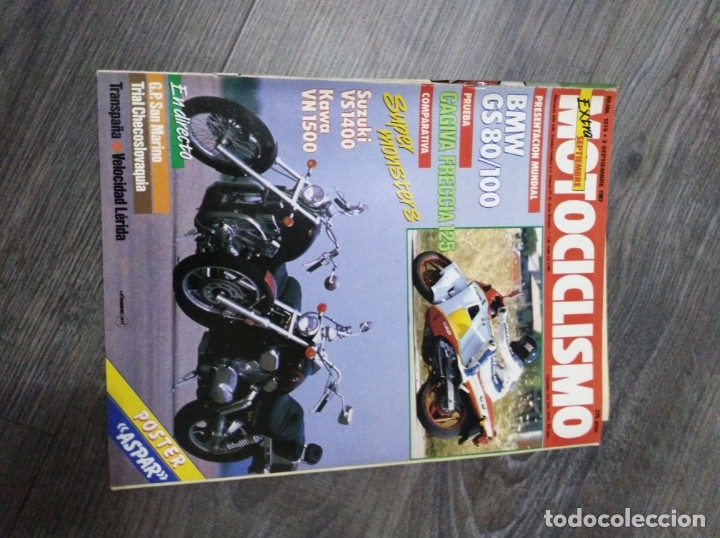 Coches y Motocicletas: Lote de 10 revistas motociclismo año 1987 n1010-1019 - Foto 3 - 174101105