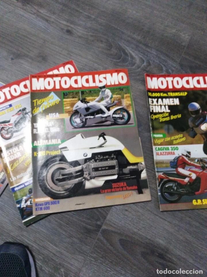 Coches y Motocicletas: Lote de 10 revistas motociclismo año 1987 n1010-1019 - Foto 5 - 174101105