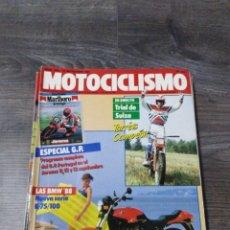 Coches y Motocicletas: LOTE DE 9 REVISTAS MOTOCICLISMO AÑO 1987 N°1020-1028. Lote 174101223