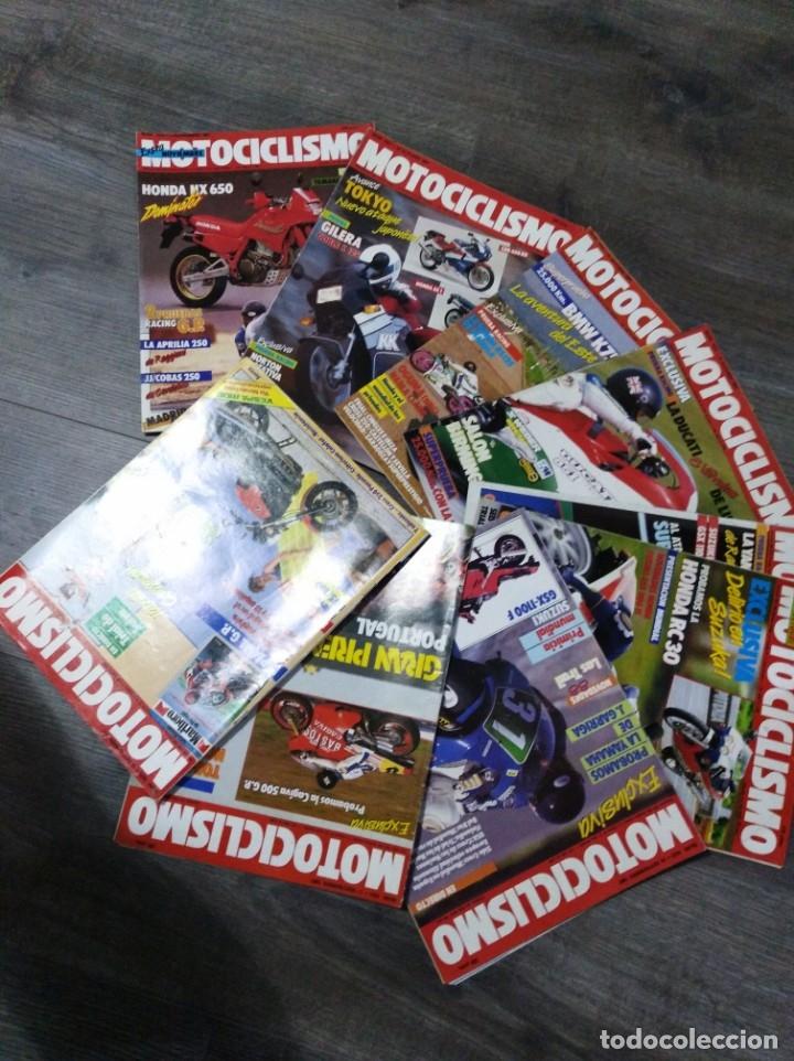 Coches y Motocicletas: Lote de 9 revistas motociclismo año 1987 n°1020-1028 - Foto 2 - 174101223
