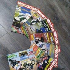 Coches y Motocicletas: LOTE DE 7 REVISTAS MOTOCICLISMO AÑO 1987 N°1030-1036. Lote 174101292
