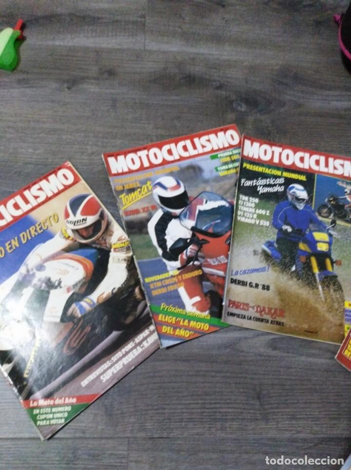 Coches y Motocicletas: Lote de 7 revistas motociclismo año 1987 n°1030-1036 - Foto 2 - 174101292
