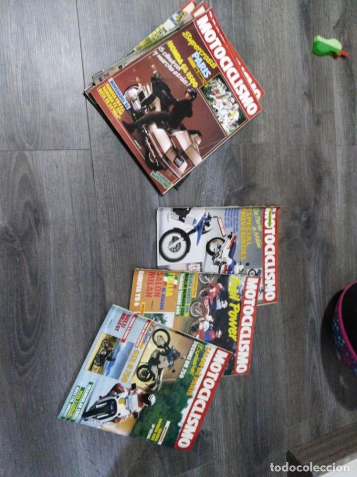 Coches y Motocicletas: Lote de 7 revistas motociclismo año 1987 n°1030-1036 - Foto 3 - 174101292