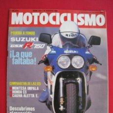 Coches y Motocicletas: REVISTA MOTOCICLISMO - Nº 914 - 10 AGOSTO 1985 - POSTER SITO PONS.. Lote 174193109